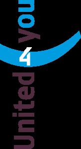 Logo United4you transparant